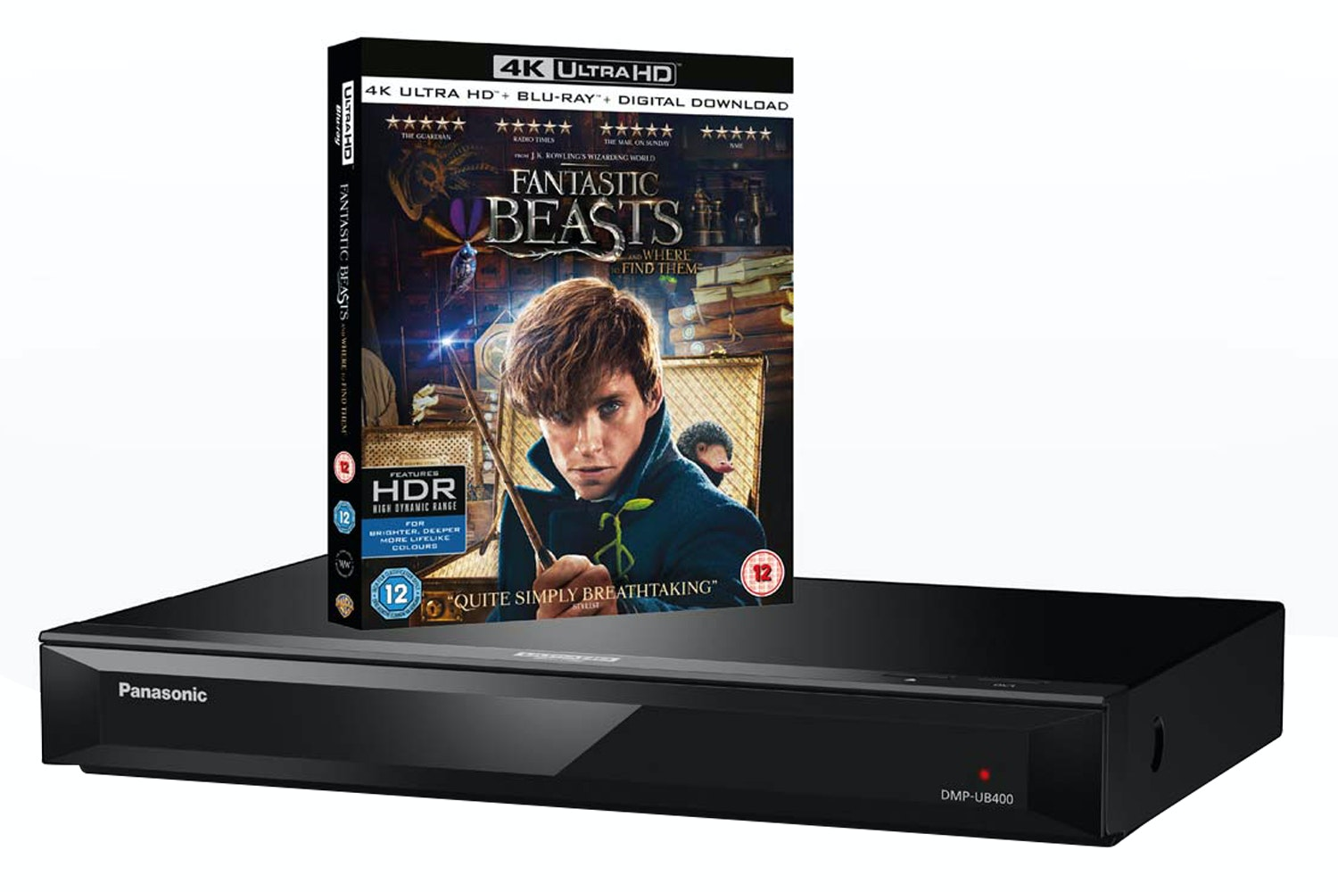 Panasonic Smart 3D 4K Ultra HD Blu-ray Player | DMP-UB400EBK