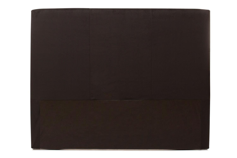 Abbey Headboard Cover |5Ft |Velvet Black
