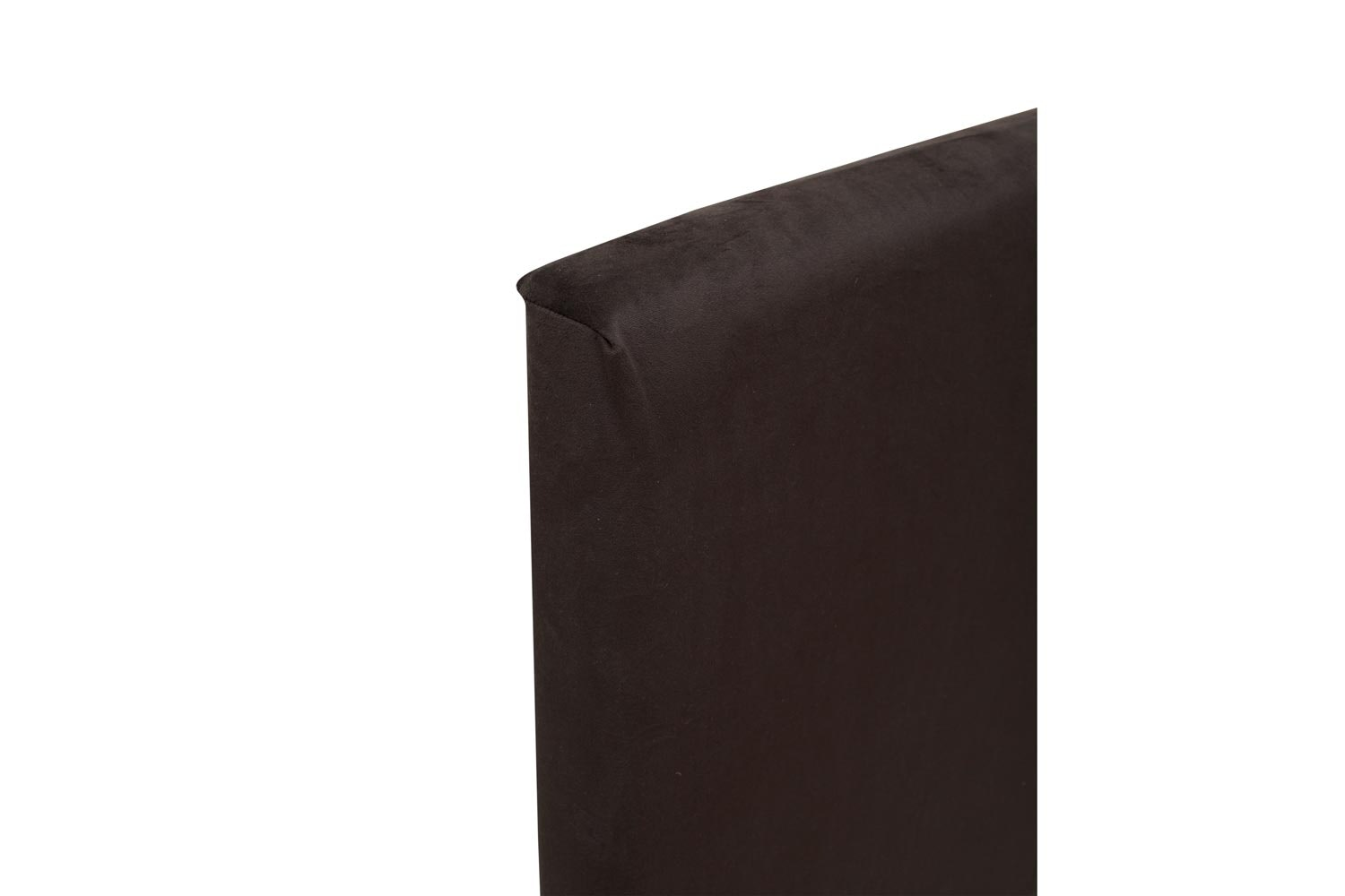 Abbey Headboard Cover |4Ft6 |Velvet Black