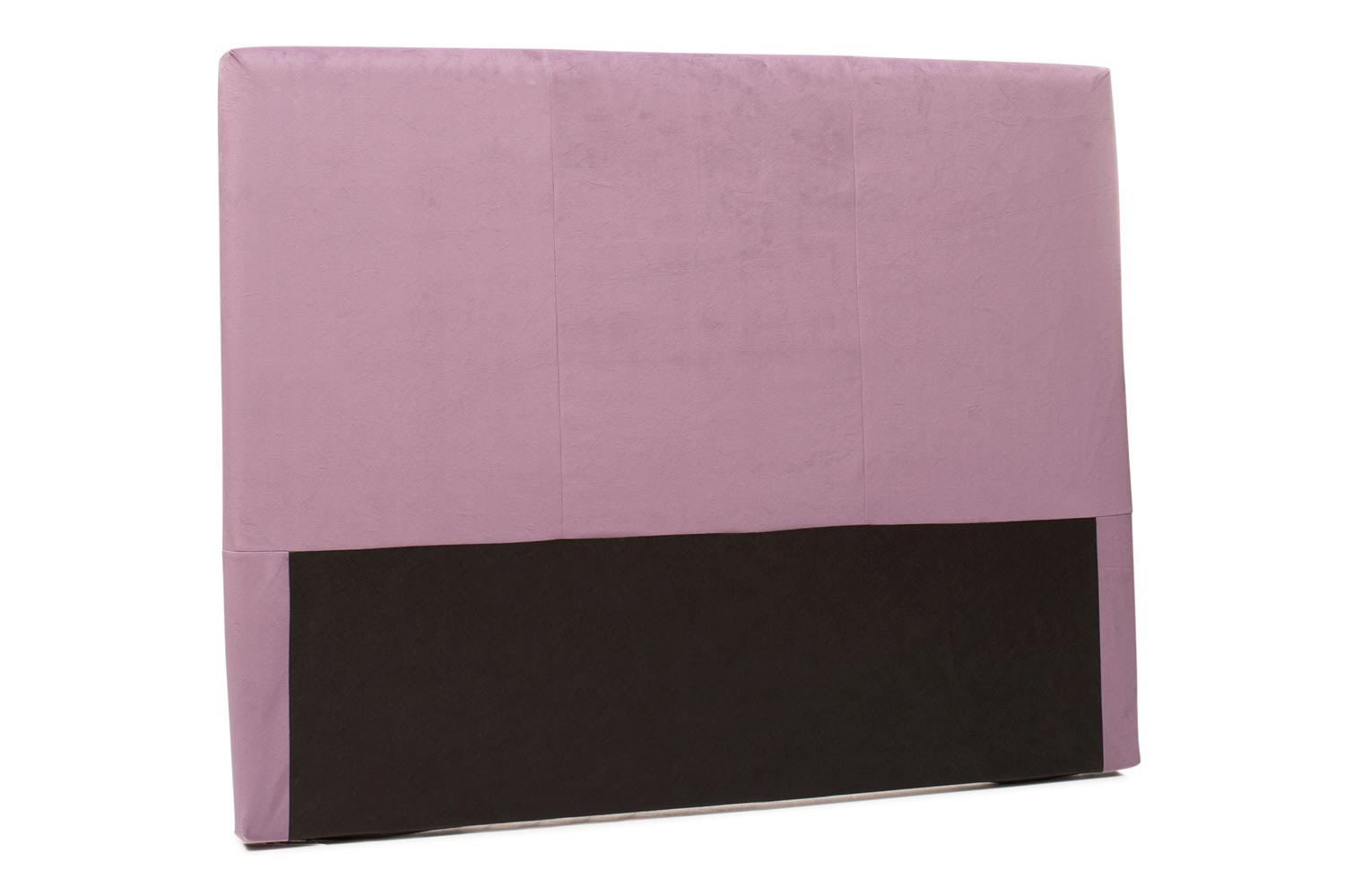 Abbey Headboard Cover |5Ft |Velvet Purple