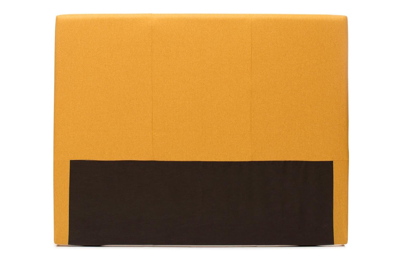 Abbey Headboard Cover |4Ft6 |Tweed Mustard