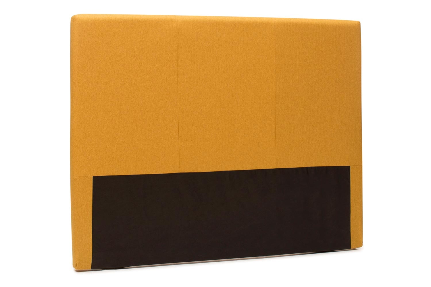 Abbey Headboard Cover |5Ft |Tweed Mustard