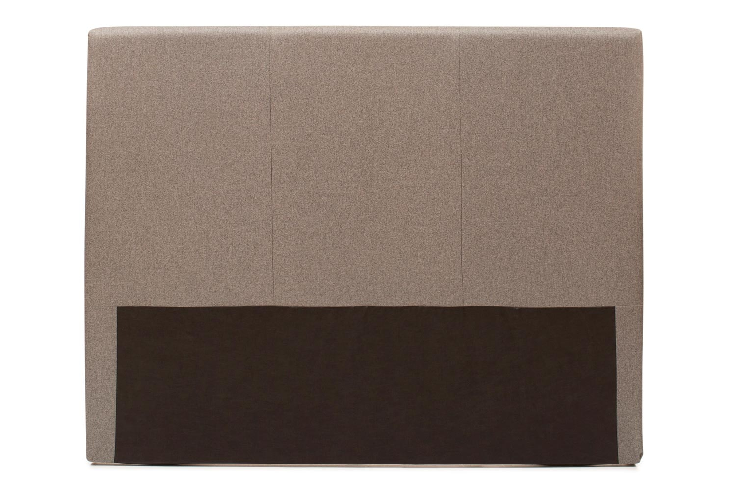 Abbey Headboard Cover |5Ft |Tweed Grey