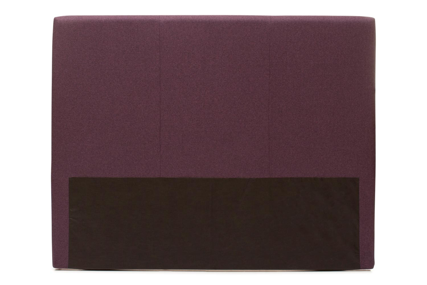Abbey Headboard Cover |4Ft6 |Tweed Purple