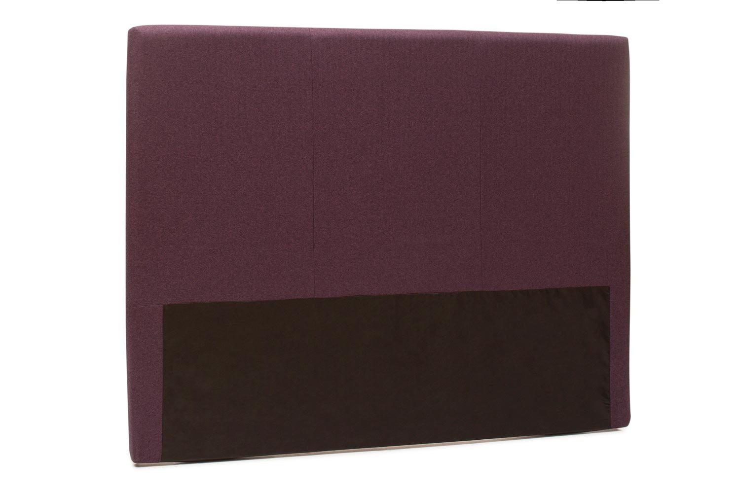 Abbey Headboard Cover |6Ft |Tweed Purple