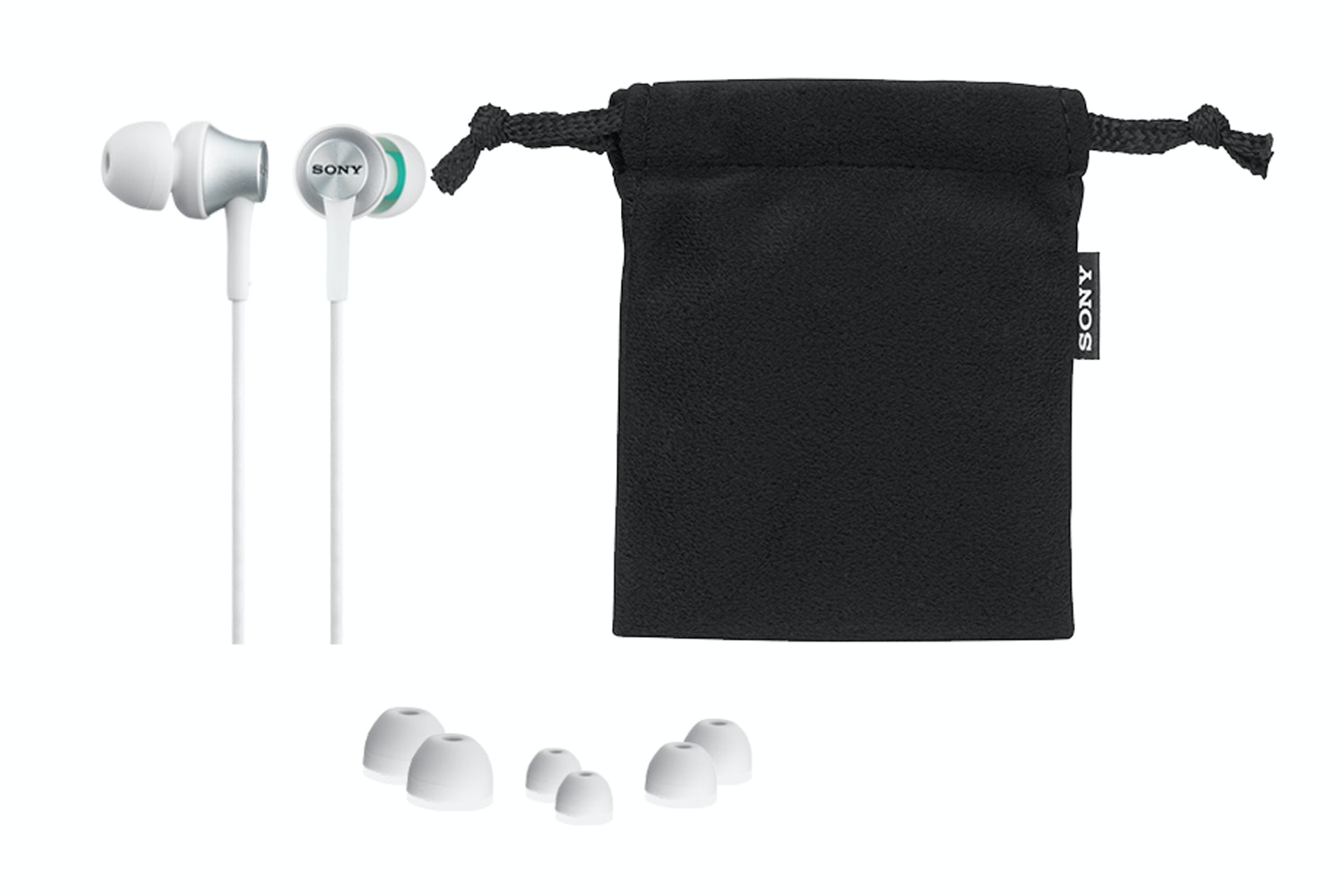 Sony In-Ear Headphones | MDREX450W.AE
