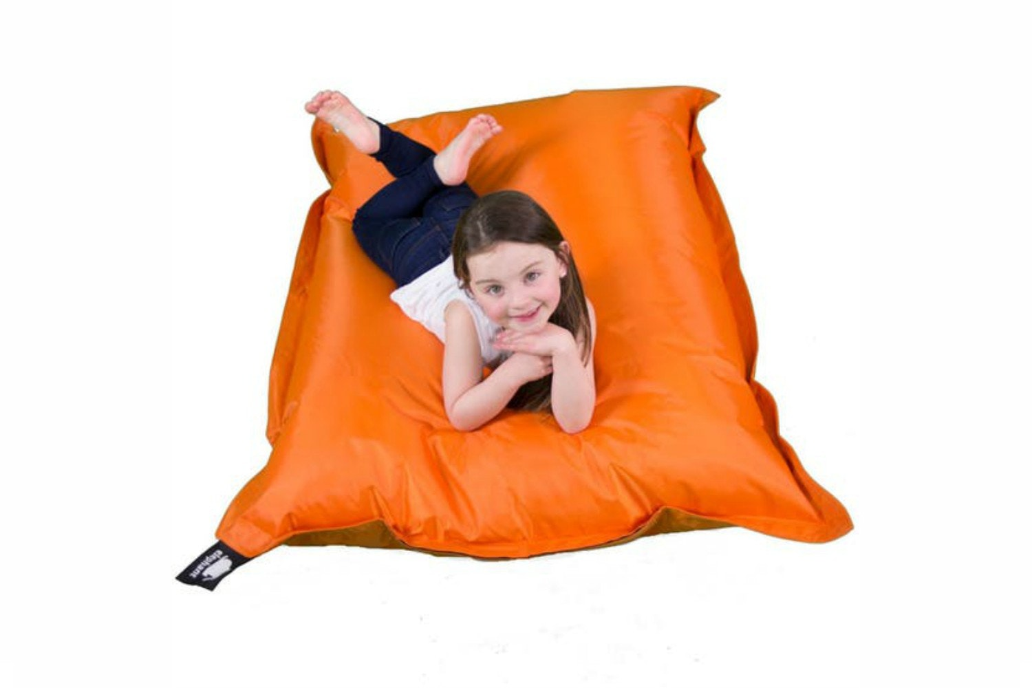Elephant Junior Bean Bag | Zesty Orange