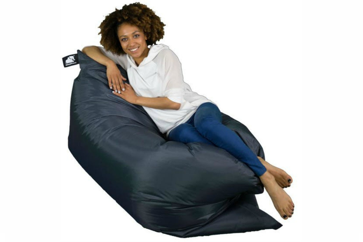 Elephant Jumbo Bean Bag | Smoke Grey