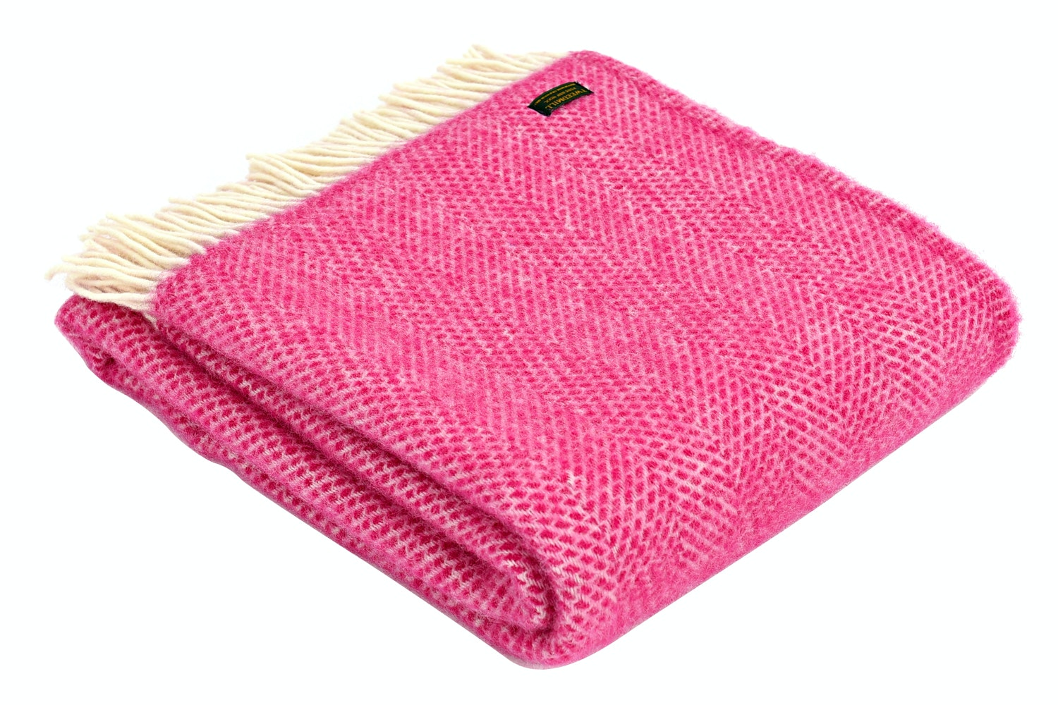 Beehive Throw Cerise Pink