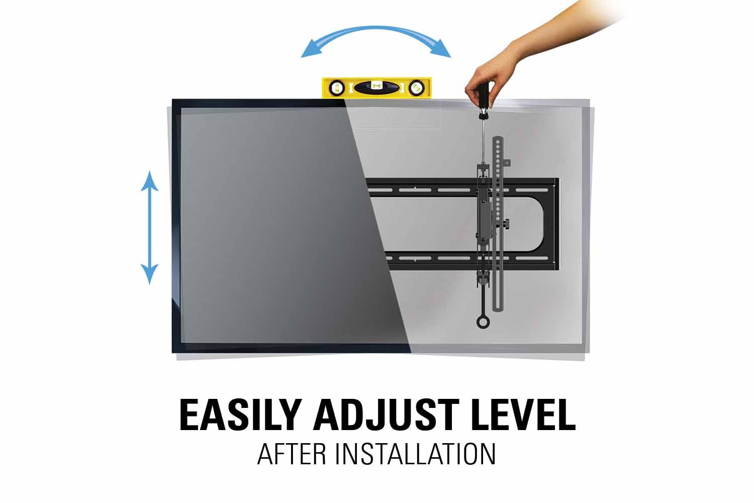 "Sanus Advanced Tilt Premium TV Wall Mount for 46"" – 90"" Flat Panel TVs 