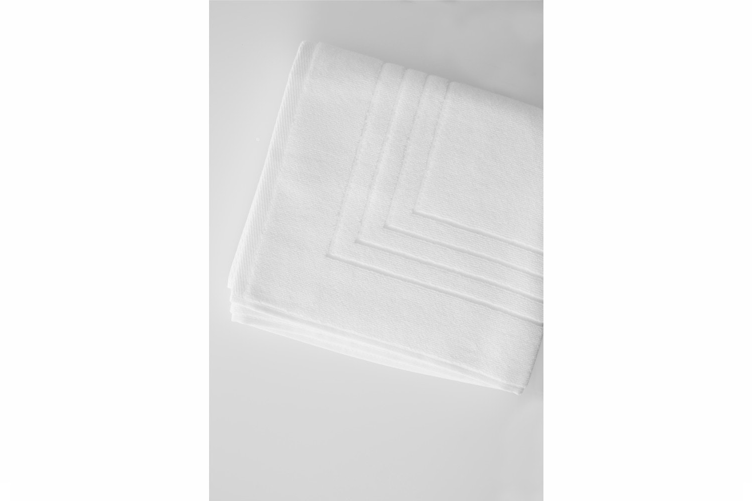 The Linen Room Bath Mat White