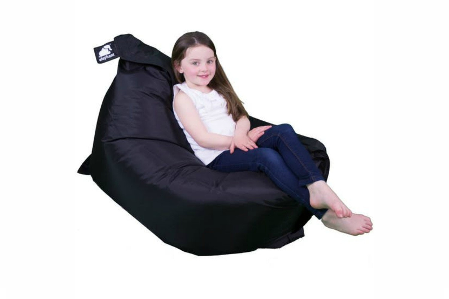 Elephant Junior Bean Bag | Urban Black