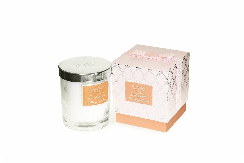 Tipperary Crystal Luxury Candle | Earl Grey Tea & Tangerine Peel