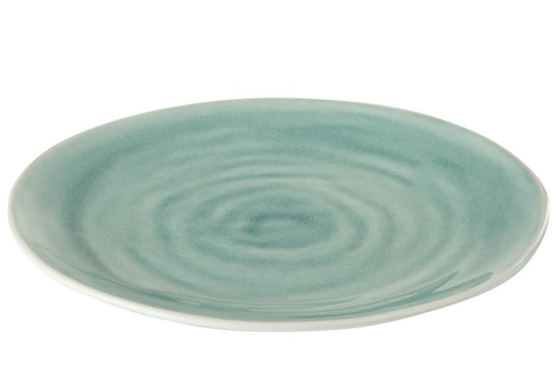 Beth Charger Plate | Teal