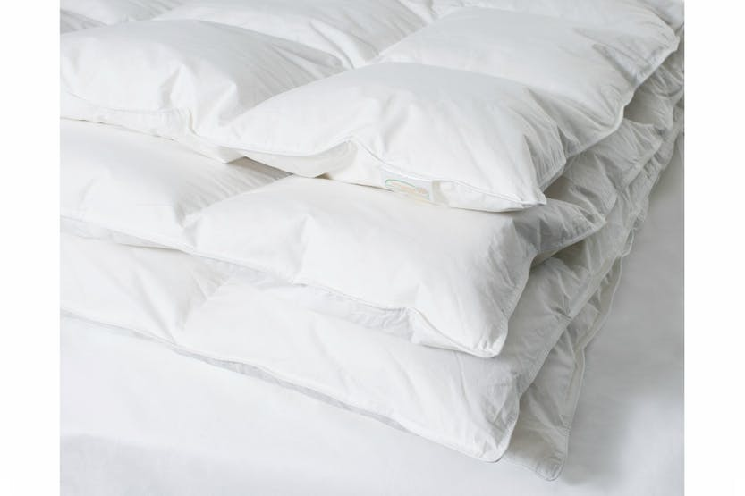 The Linen Room Duvet 13.5 Tog | White Goose Down | King
