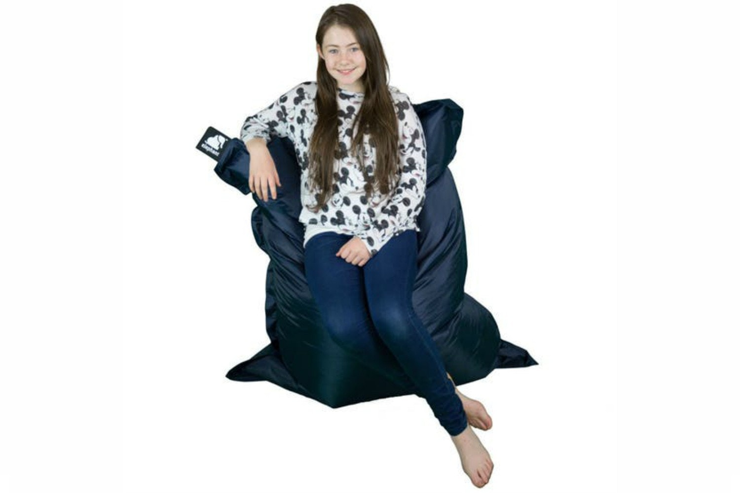 Elephant Junior Bean Bag | Smoke Grey