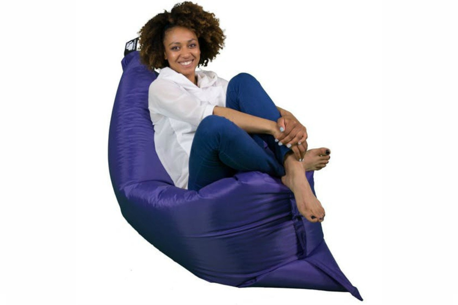 Elephant Junior Bean Bag | Ultra Violet
