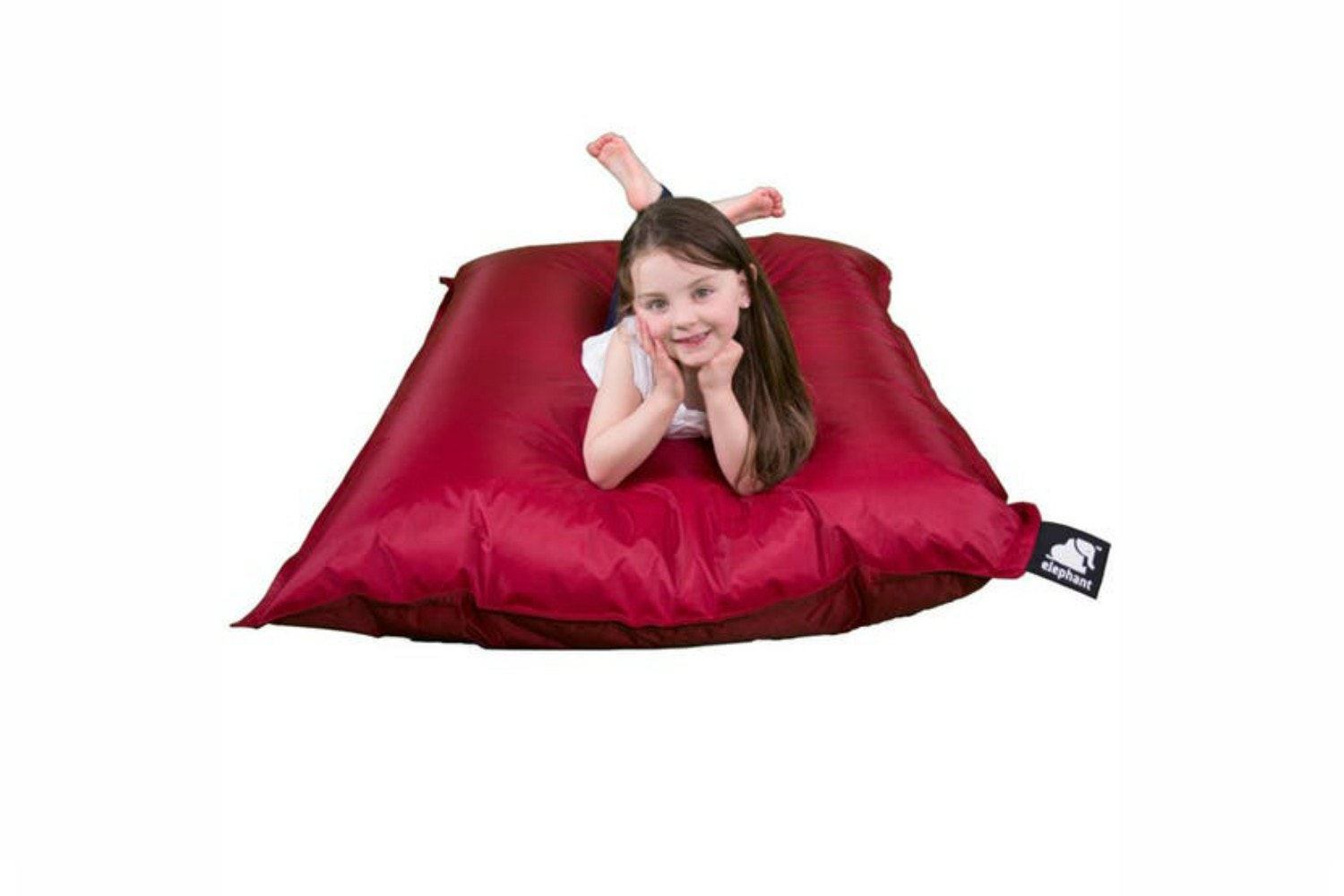 Elephant Junior Bean Bag | Vibrant Red