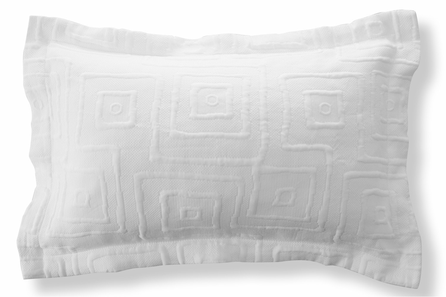 The Linen Room Lisbon Pillowsham White