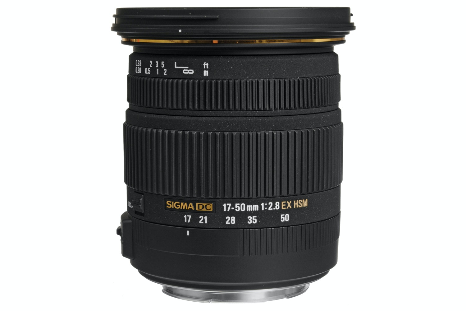 Sigma 17-50mm f2.8 EX DC OS HSM lens for Canon
