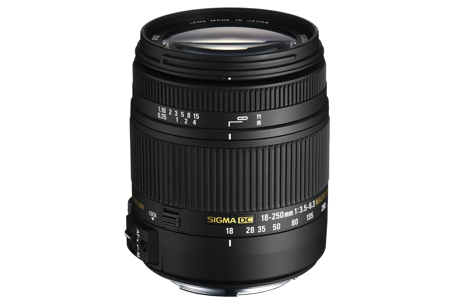 Sigma 18-250mm DC OS Macro HSM lens for Canon