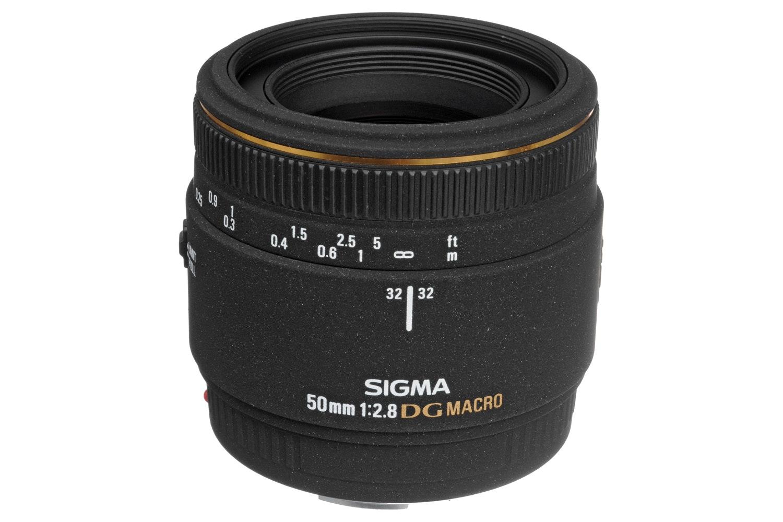 Sigma 50mm f2.8 EX DG Macro lens for Canon