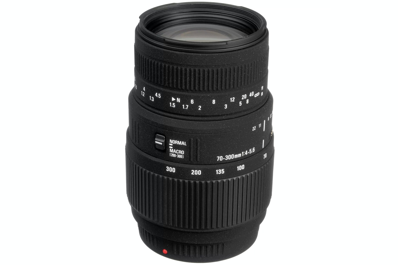 Sigma 70-300mm DG Macro lens for Canon