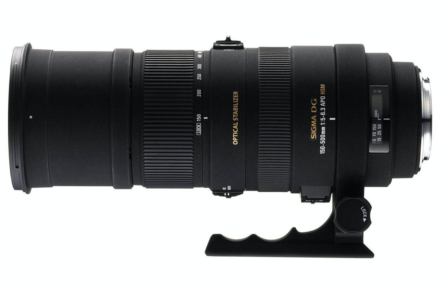 Sigma 150-500mm DG OS HSM lens for Canon