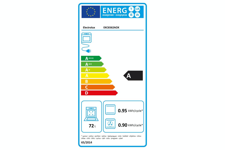 Electrolux Freestanding Cooker | EKC6562AOX