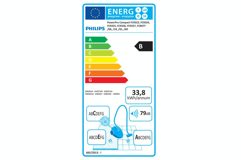 Philips PowerPro Compact Bagless Vacuum Cleaner | FC8477/91