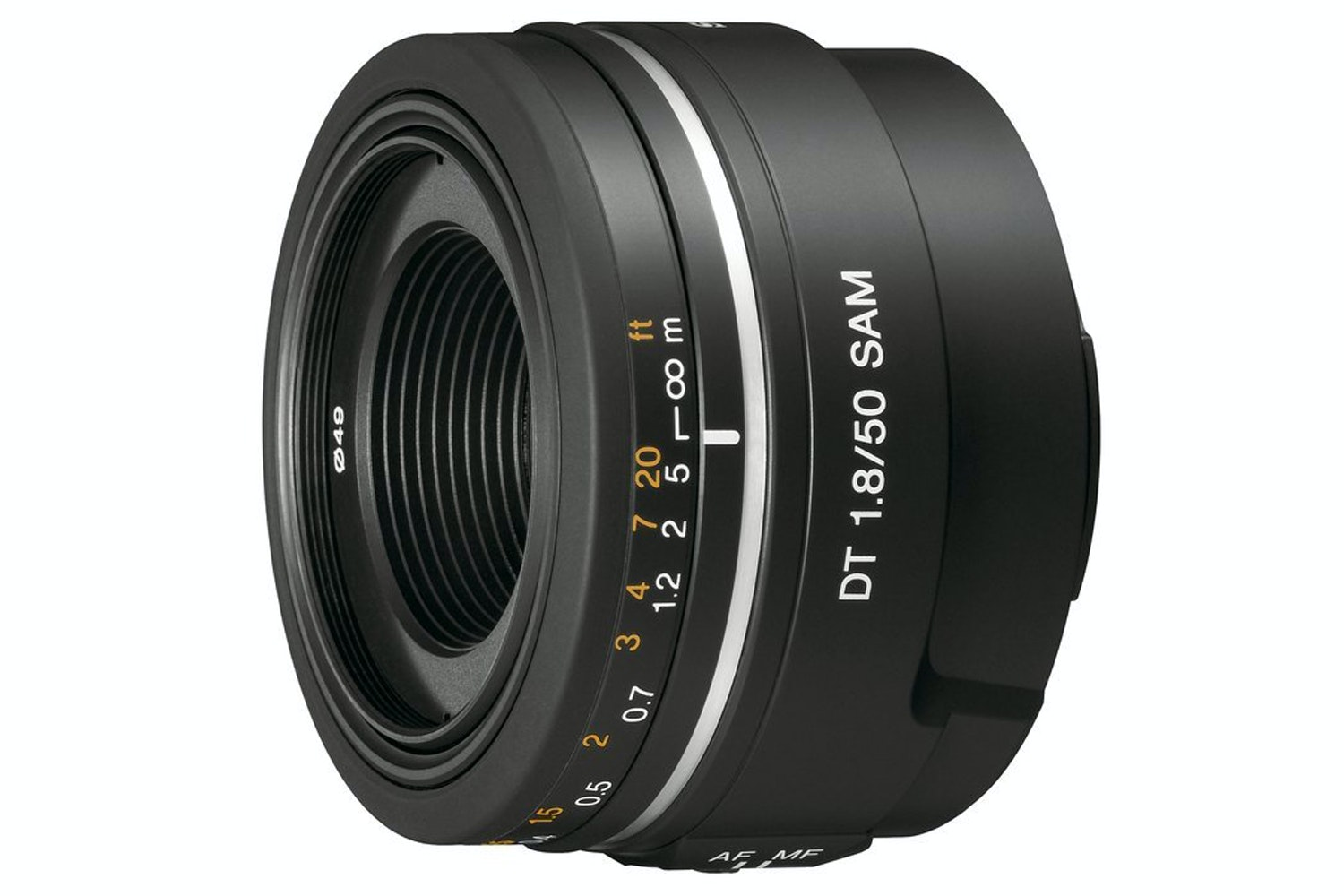 Sony A-mount 50mm f1.8 lens