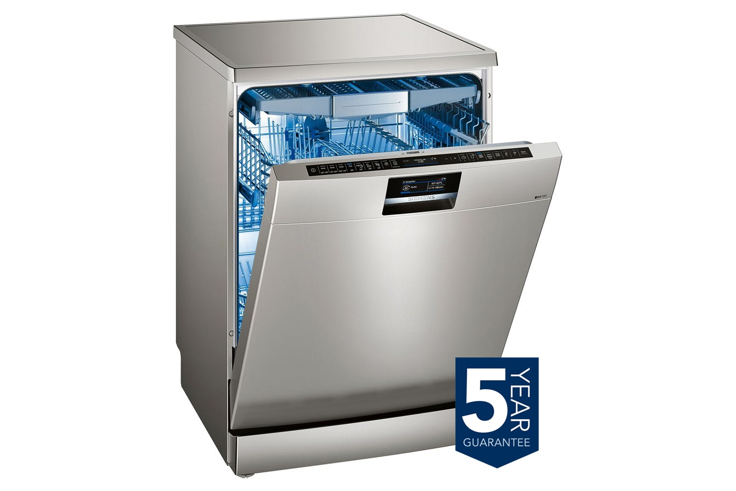Siemens 13 Place Freestanding Dishwasher | SN278I26TE