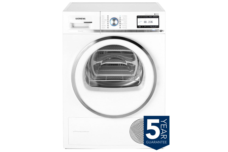 Siemens Condenser Dryer IQ700 | WT4HY790GB