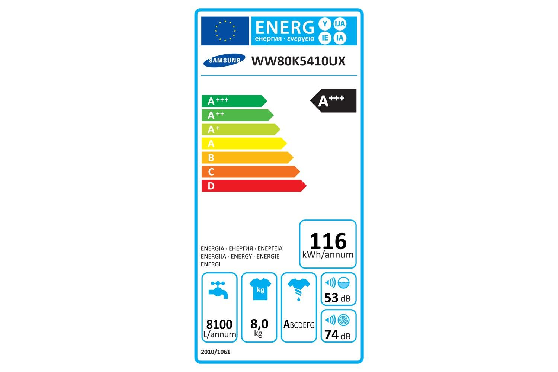 Samsung 8kg AddWash Washing Machine | WW80K5410UX/EU