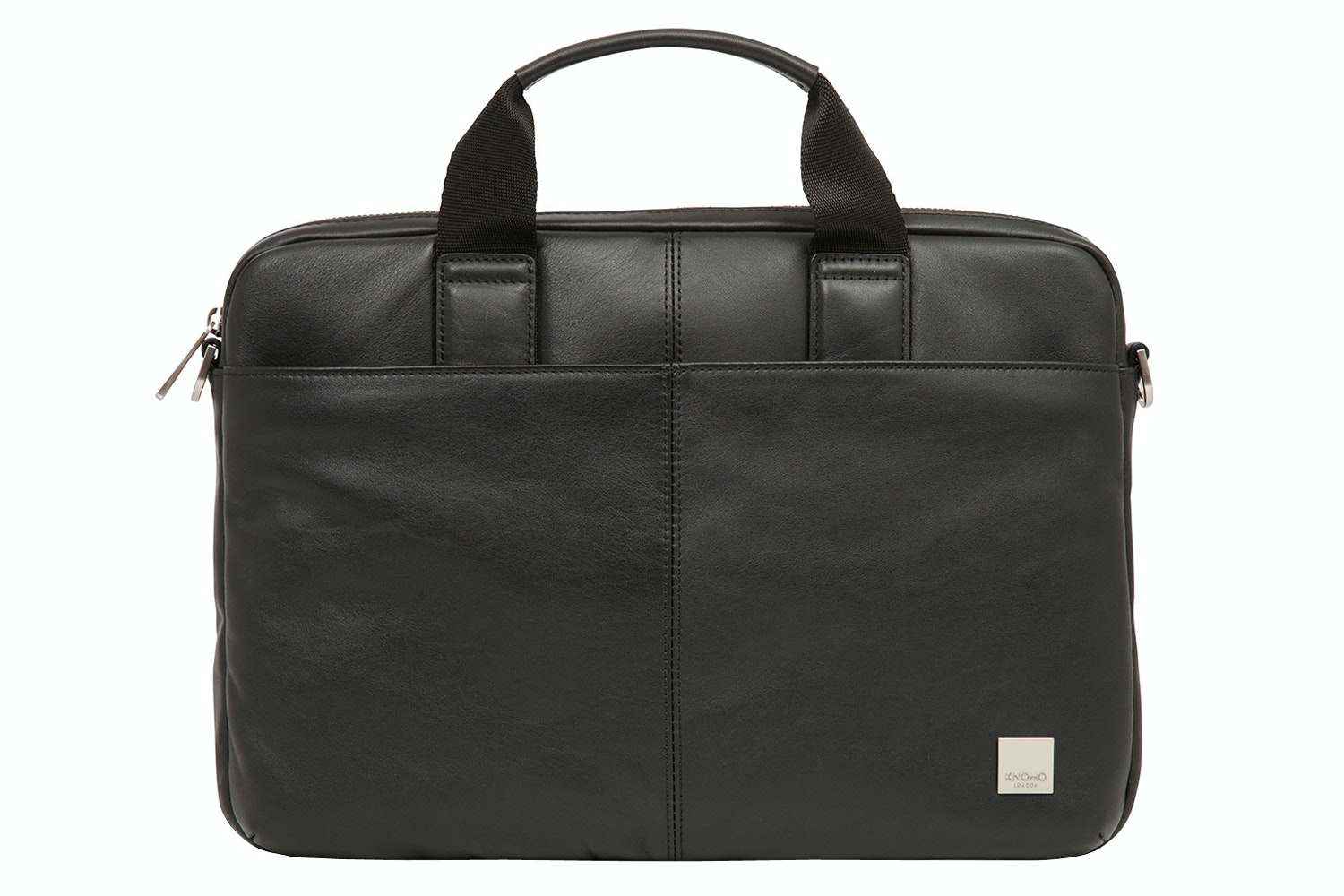 Knomo Stanford Full Leather Slim Laptop Carrier 13"