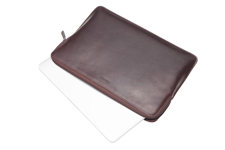 "Knomo Barbican 13"" Laptop Sleeve | Brown"
