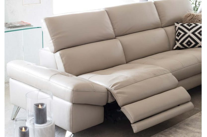 Alessa Chaise Sofa | Electric Recliner