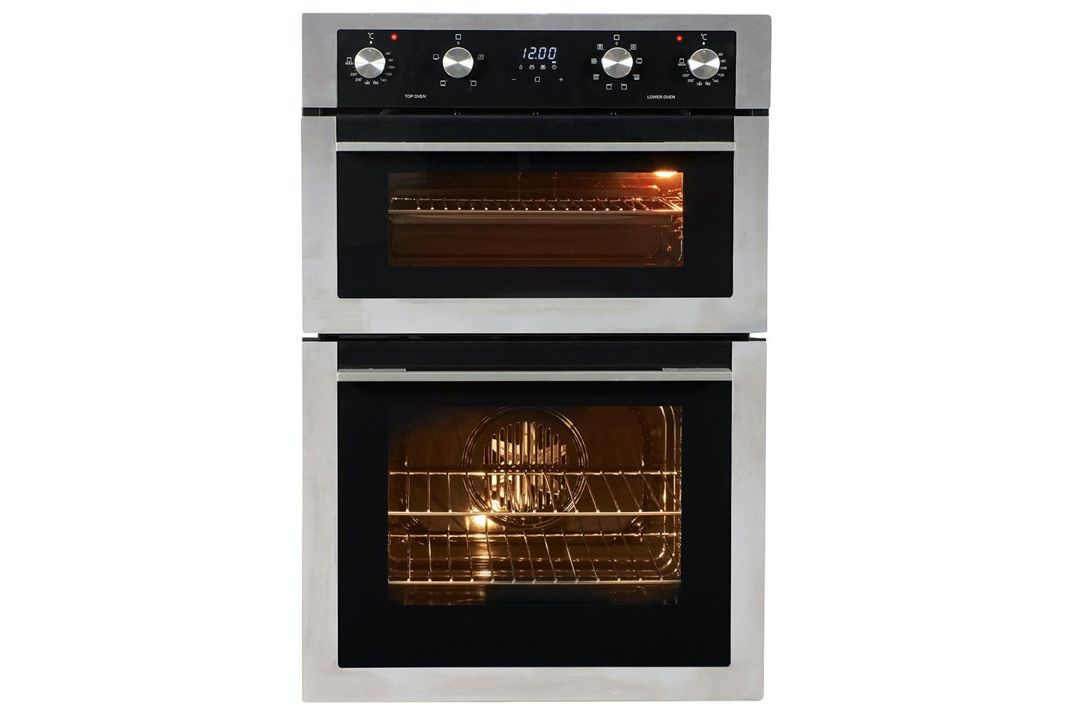 Nordmende Built In Electric Double Oven | DOI414IX