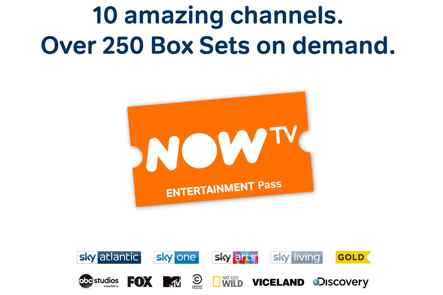 NOW TV Box | With 2 Month Entertainment Pass