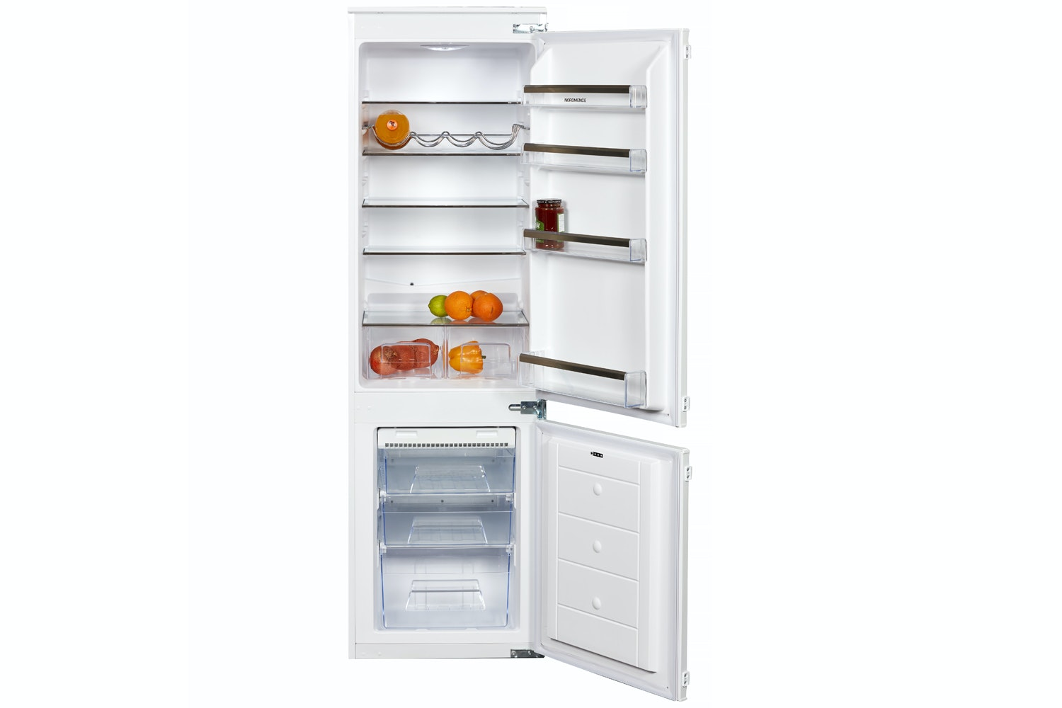 nordmende integrated fridge freezer riff70301nf