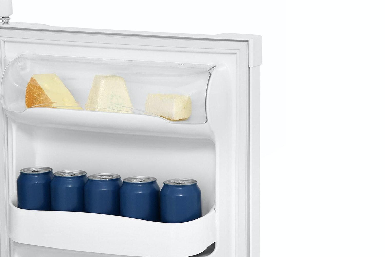 Zanussi Freestanding Stainless Fridge Freezer | ZRT18101WA