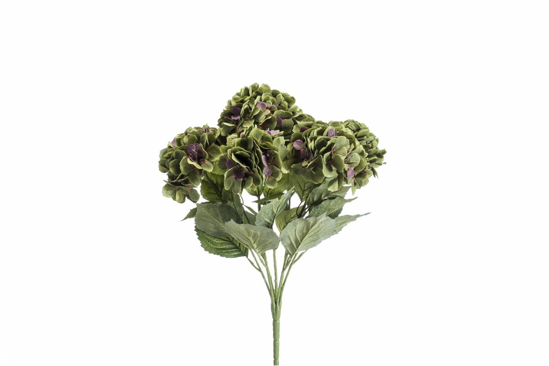 Hydrangea Bush | Green/Purple