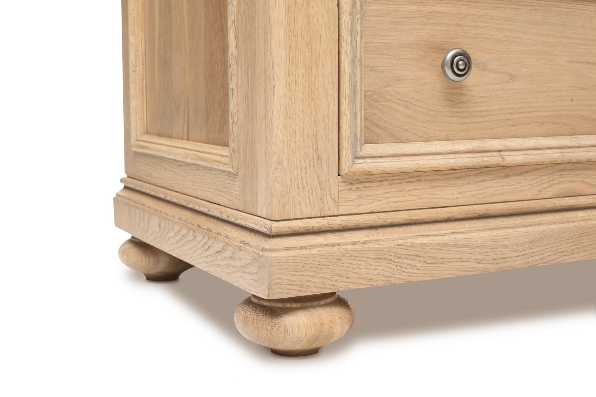 Hartely Chest Dresser 3+4 Drawer | Smoked Oak