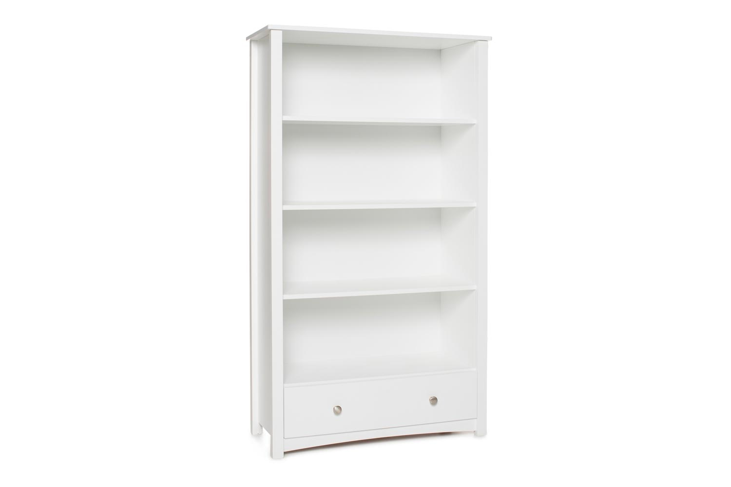 Urban Bookcase 1 Drawer | Tall | White