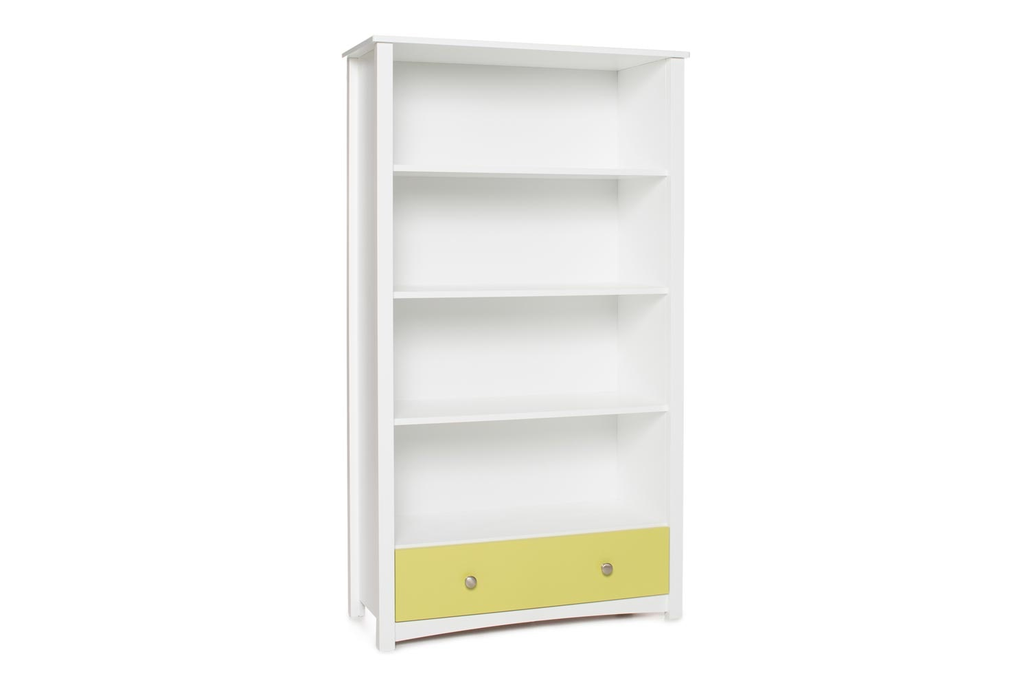 Urban Bookcase 1 Drawer | Tall | White & Green