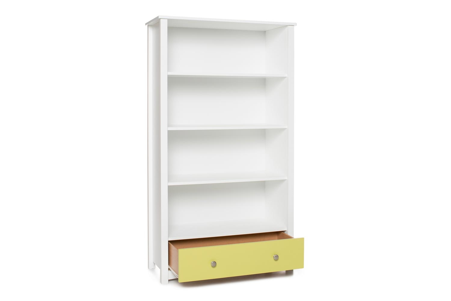 Urban Bookcase 1 Drawer |Tall| White & Green