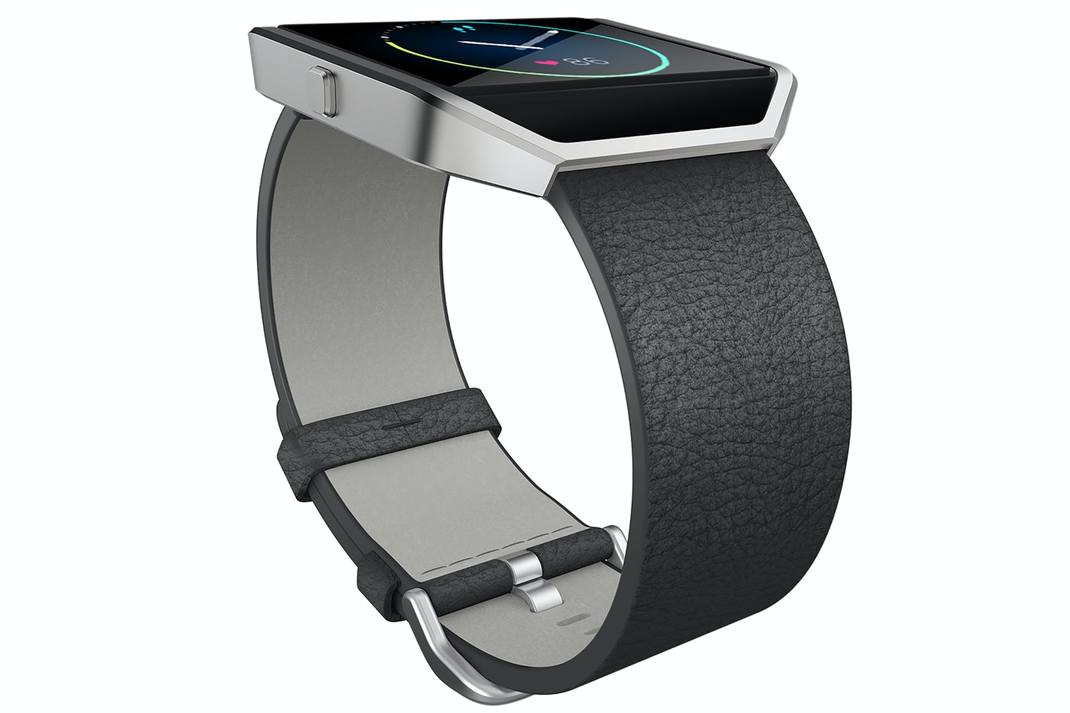 Fitbit Blaze Leather Band Black Large