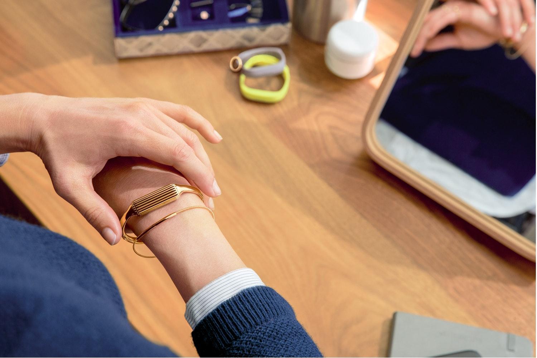 Fitbit Flex 2 Accessory Bangle Gold Large