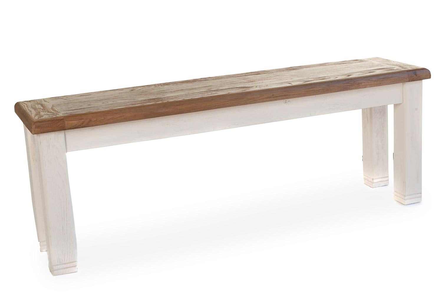 Queenstown Bench | Large | Painted White