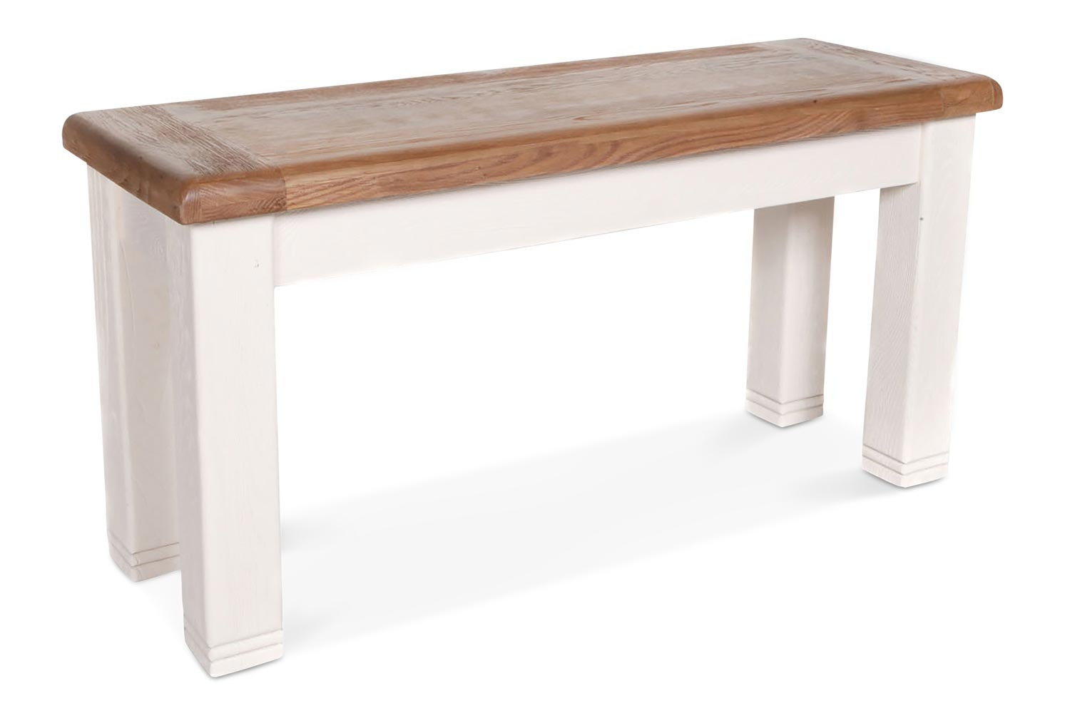 Queenstown Bench | Small | Painted White